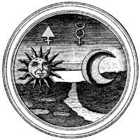 A lua e o sol